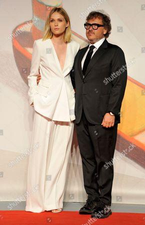 Stock Photo of Caterina Shula and Mauro Berardi