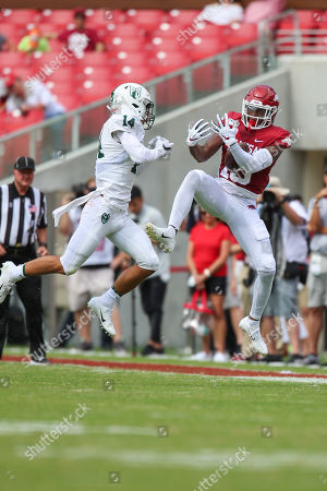 Editorial picture of NCAA Football Portland State vs Arkansas, Fayetteville, USA - 31 Aug 2019