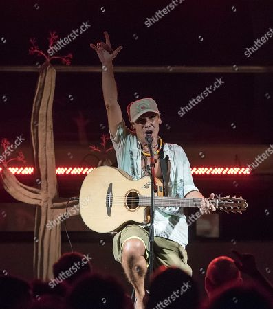 Editorial photo of Manu Chao in concert in Mahon, Mahon (Menorca), Spain - 31 Aug 2019