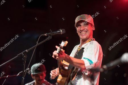 Stock Picture of Manu Chao performs during his concert in Mahon, Menorca, Spain, late 31 August 2019 (issued 01 September 2019).