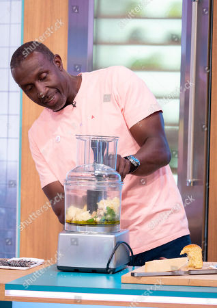 Stock Photo of Linford Christie