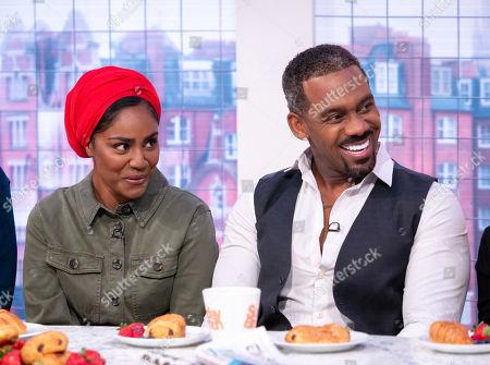Nadiya Hussain and Richard Blackwood