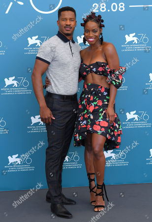 Stock Image of Nate Parker and Milauna Jackson