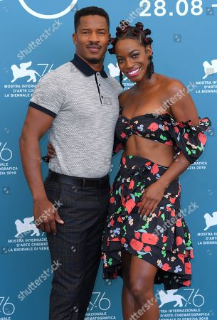 Stock Photo of Nate Parker and Milauna Jackson