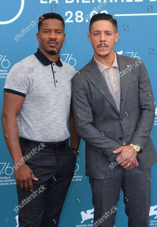 Stock Photo of Nate Parker and Theo Rossi