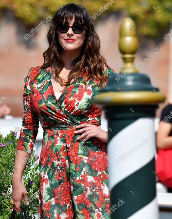 Valentina Lodovini arrives at the Lido Beach for the 76th annual Venice International Film Festival, in Venice, Italy, 01 September 2019. The festival runs from 28 August to 07 September.