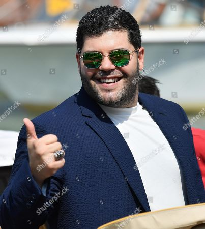 Salvatore Esposito arrives at the Lido Beach for the 76th annual Venice International Film Festival, in Venice, Italy, 01 September 2019. The festival runs from 28 August to 07 September.