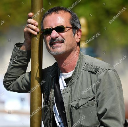 Rocco Papaleo arrives at the Lido Beach for the 76th annual Venice International Film Festival, in Venice, Italy, 01 September 2019. The festival runs from 28 August to 07 September.