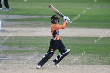 Danielle Wyatt of Southern Vipers batting during the Kia Women's Cricket Super League semi-final match between Loughborough Lightning and Southern Vipers at the 1st Central County Ground, Hove