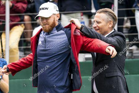 Editorial photo of European Masters golf tournament in Crans-Montana, Switzerland - 01 Sep 2019
