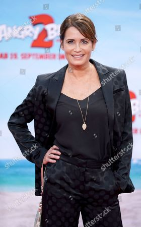 Anja Kling attends the German premiere of the movie 'Angry Birds 2' in Berlin, Germany, 01 September 2019.