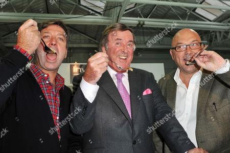 John Torode, Terry Wogan and Gregg Wallace