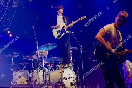 Stock Picture of The Vamps - Brad Simpson, Tristan Evans