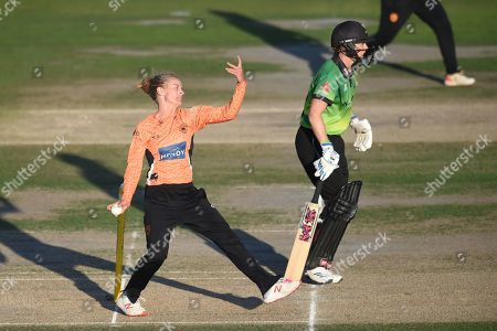 Editorial photo of Western Storm v Southern Vipers, Women's Cricket Super League., Final - 01 Sep 2019