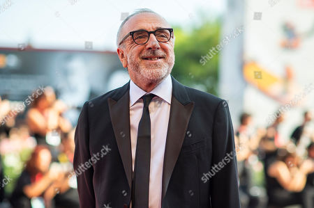 Silvio Orlando poses for photographers upon arrival at the premiere of the film 'The New Pope' at the 76th edition of the Venice Film Festival, Venice, Italy