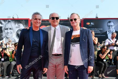 Massimo Ghini, Tomas Arana and Ulrich Thomsen