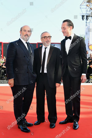 Javier Camara, Silvio Orlando and Maurizio Lombardi