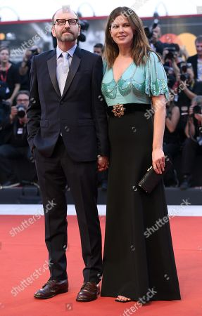 Steven Soderbergh (L) and Jules Asner arrive for the premiere of 'The Laundromat' during the 76th annual Venice International Film Festival, in Venice, Italy, 01 September 2019. The movie is presented in official competition 'Venezia 76' at the festival running from 28 August to 07 September.