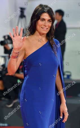 Valeria Solarino arrives for a premiere of 'The Laundromat' during the 76th annual Venice International Film Festival, in Venice, Italy, 01 September 2019. The movie is presented in official competition 'Venezia 76' at the festival running from 28 August to 07 September.