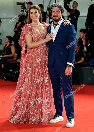 Diana Del Bufalo (L) and Paolo Ruffini arrive for a premiere of 'The Laundromat' during the 76th annual Venice International Film Festival, in Venice, Italy, 01 September 2019. The movie is presented in official competition 'Venezia 76' at the festival running from 28 August to 07 September.
