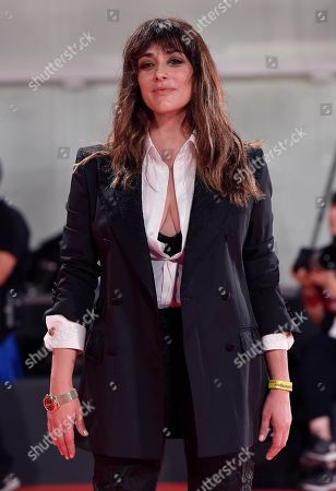 Valentina Lodovini arrives for a premiere of 'The Laundromat' during the 76th annual Venice International Film Festival, in Venice, Italy, 01 September 2019. The movie is presented in official competition 'Venezia 76' at the festival running from 28 August to 07 September.