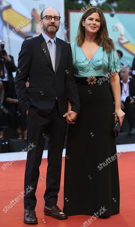 Steven Soderbergh (L) and Jules Asner (R) arrive for the premiere of 'The Laundromat' during the 76th annual Venice International Film Festival, in Venice, Italy, 01 September 2019. The movie is presented in official competition 'Venezia 76' at the festival running from 28 August to 07 September.