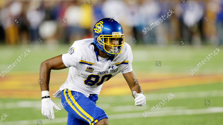 Stock Picture of Tyreke Evans. South Dakota State wide receiver Adam Anderson during an NCAA football game against MinnesotaSouth Dakota State in Minneapolis