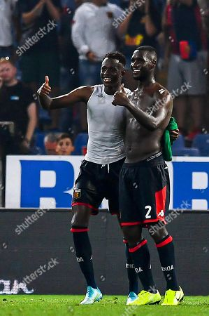 Editorial picture of Genoa CFC vs ACF Fiorentina, Italy - 01 Sep 2019
