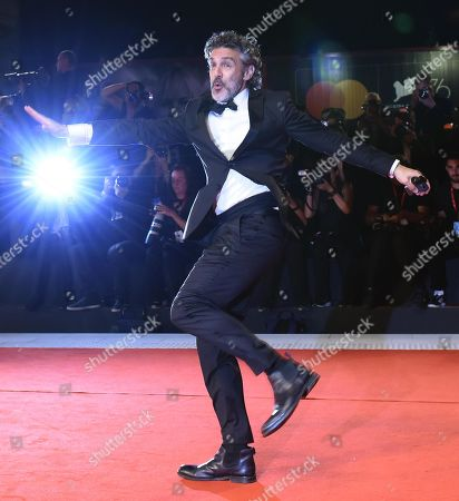Argentinian actor Leonardo Sbaraglia arrives for the premiere of 'Wasp Network ' during the 76th annual Venice International Film Festival, in Venice, Italy, 01 September 2019. The movie is presented in the official competition 'Venezia 76' at the festival running from 28 August to 07 September.