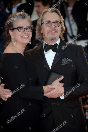 Gisele Schmidt and Gary Oldman