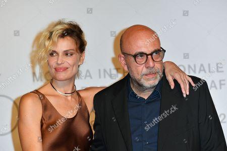 Micaela Ramazzotti and Paolo Virzi