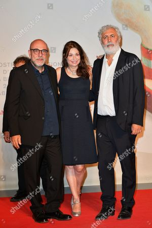 Francesca Archibugi, Francesco Piccolo and Paolo Virzi