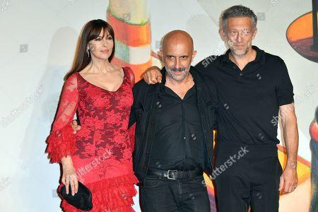 Gaspar Noe, Vincent Cassel and Monica Bellucci