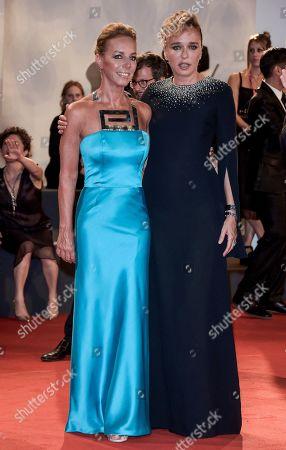 Valeria Golino and Danae Stratou