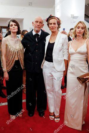 Yuliya Snigir, John Malkovich, Cecile de France and Ludivine Sagnier