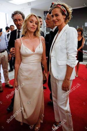 Ludivine Sagnier and Cecile de France