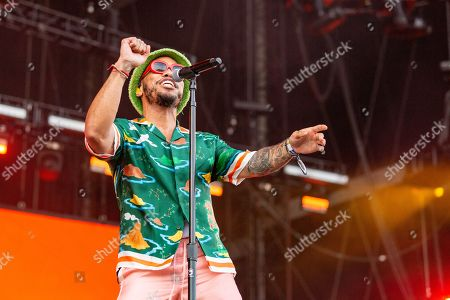 Stock Photo of Anderson Paak and The Free Nationals