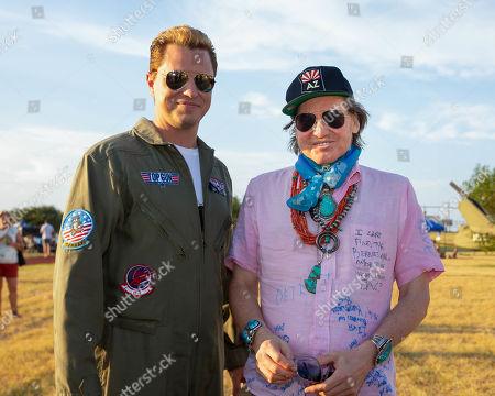 Kevin Serwatka and Val Kilmer