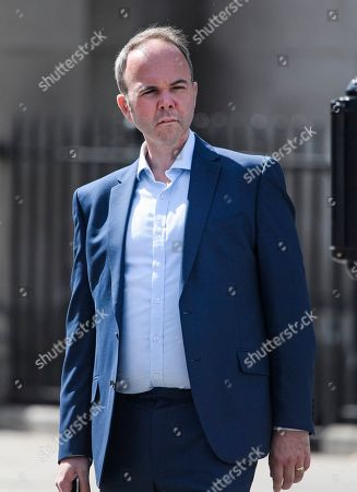 Former Downing Street Chief of Staff Gavin Barwell is seen in Westminster