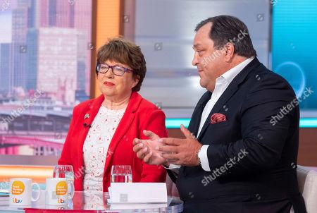 Stock Photo of Angela Levin and Robert Jobson