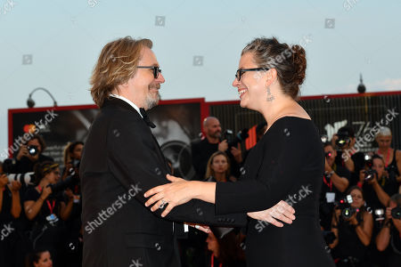 Stock Picture of Gisele Schmidt, Gary Oldman