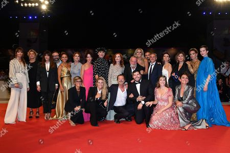 Editorial picture of Filming Italy Best Movie awards, Arrivals, 76th Venice Film Festival, Italy - 01 Sep 2019