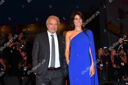The director Giovanni Veronesi, Valeria Solarino