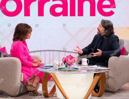 Lorraine Kelly and Laurence Llewelyn-Bowen
