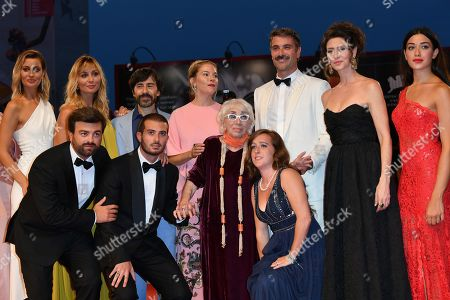 Editorial picture of Kineo Prize, 76th Venice Film Festival, Italy - 01 Sep 2019