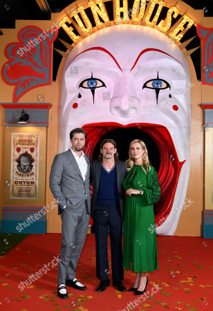 Stock Picture of Andy Muschietti, Jake Weary, Barbara Muschietti