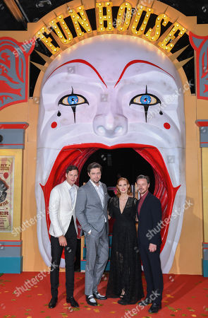 Bill Skarsgard, Andy Muschietti, Jessica Chastain, James McAvoy