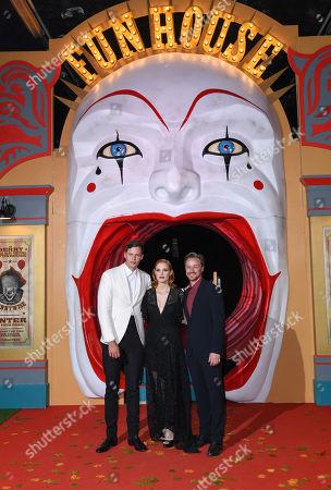 Bill Skarsgard, Jessica Chastain, James McAvoy