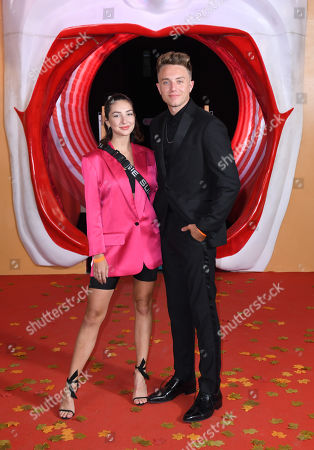 Stock Picture of Roman Kemp ; Anne-Sophie Flury