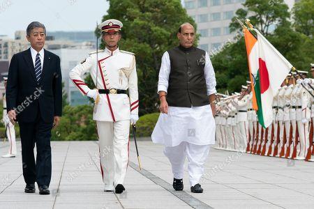 Japanese Defense Minister Takeshi Iwaya, Defense Minister of India Rajnath Singh
